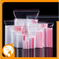 HCM – 1 Kg túi zip chỉ đỏ (lựa chọn size) đựng thực phẩm và làm bao bì nilon gói hàng