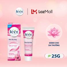 Kem Tẩy Lông Cho Da Thường Veet Silk Fresh 25G