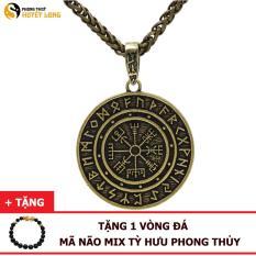 Dây Chuyền Money Amulet – Đồng Tiền May Mắn, Tài Lộc, Bình An – (Màu Vàng Đồng, Bạc)