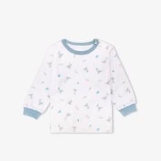 Áo nút vai tay dài bo thỏ xanh – Miomio – Dành cho bé từ 0 – 24 tháng, cam kết hàng đúng mô tả, chất lượng đảm bảo, đa dạng mẫu mã, màu sắc, kích cỡ