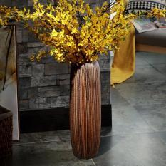 Bình hoa, lọ hoa, bình bông gốm sứ tráng men decor trang trí để bàn, trang trí nội thất , phòng ăn, phòng khách, trưng bày DH- BH0003