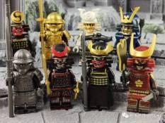 [LEGO MINIFIGURES] SET 8 LÍNH SAMURAI ARMOR VÕ SĨ ĐẠO NHẬT BẢN WM6090