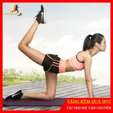 Bộ Tập Gym, Yoga, Thể Dục Nữ Hàng Cao Cấp – Set Quần Đùi + Áo Bra [Ken-10]