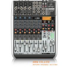 Bộ trộn âm thanh 12 kênh, nhãn hiệu: BEHRINGER, model: QX1204USB