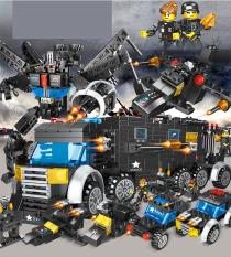 [HOT] Lego xếp hình đoàn tàu, robot chất lượng cao