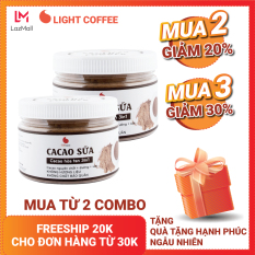 Combo 2 hũ bột cacao sữa 3in1 Light coffee – 230gr/hũ