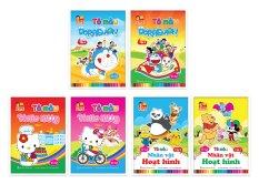 10 quyển vở cho bé tô màu