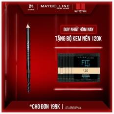 Chì Kẻ Mày 2 Đầu Với Đầu Chì Xéo Mềm Mịn 12H Maybelline New York Fashion Brow Cream Pencil 1.5g