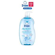 D-nee Head & Body Baby Wash 800 ML. – New born