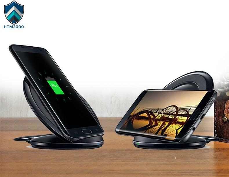 Đế sạc nhanh không dây Fast Charge kiêm giá đỡ cho Samsung, iPhone, Xiaomi, Huawei, Oppo…