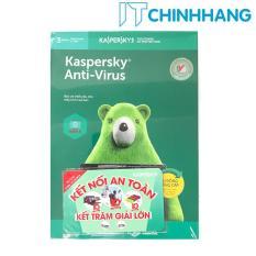 Phần mềm bảo mật máy tính Kaspersky Anti-Virus Security 3PC (1 năm) – Hàng Chính Hãng