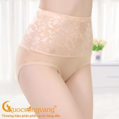 Quần lót nữ thêu quần lót lưng cao giấu bụng GLDL037