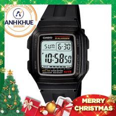 Đồng hồ điện tử huyền thoại Casio dây nhựa DM430 (Đen)