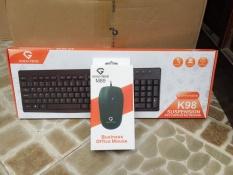 Bộ phím chuột văn phòng goldtech k98 và M89 giá rẻ bảo hành 12 tháng