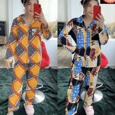 [PIJAMA BIGSIZE] TNQD + TDQD Form 65kg-78kg [CÓ TÚI QUẦN ]Vải Lụa Hàn Bao Đẹp Mịn Mát Cam Kết giống ảnh 100%