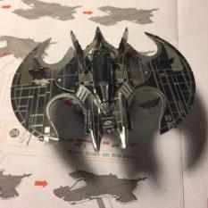 Mô hình lắp ráp 3D kim loại Siêu Xe – Phi Thuyền Batman Người Dơi [ Chưa lắp ]