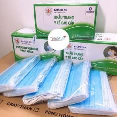 [THEO THỜI GIÁ] Hộp 50 cái khẩu trang y tế Khánh An 4 lớp vải Kháng khuẩn ISO 13485:2016