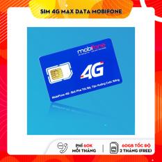 SIM 4G MOBI C120 KM 120GB ( 4GB/NGÀY) – Miễn phí cuộc gọi
