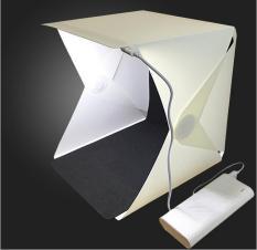 Hộp đèn chụp ảnh 30cm thiết kế nhỏ gọn chất liệu nhựa Polymer