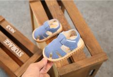 Giày sandal dễ thương cho bé mới biết đi. Giày sandal dễ thương cho bé trai tập đi. Giày đẹp cho bé 6-36 tháng. My little boss