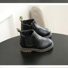 Giay cho be,giay the thao cho be,Giày Cho Bé Kiểu Dáng Hàn Quốc ,giày thể thao cho bé 20340 Màu đen-23 -VICTORIA