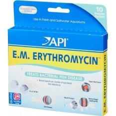 API E.M. ERYTHROMYCIN Ngăn Ngừa Các Bệnh Nhiễm Khuẩn Dành Cho Cá Cảnh
