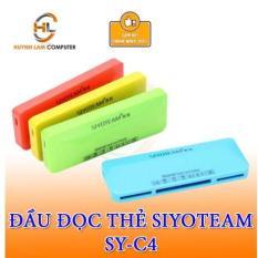 Đầu đọc thẻ nhớ đa năng SIYOTEAM SY-C4 hãng phân phối