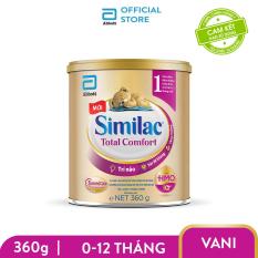 [GIẢM 50K ĐƠN 599K]Sữa bột Similac Total Comfort 1 (HMO) 360g bé 0 – 12 tháng giúp bé dễ hấp thụ và hạn chế các vấn đề tiêu hóa