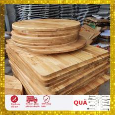 (Giá Tại Xưởng) Mặt bàn gỗ cao su 50 x 120cm đã sơn lót,phủ bóng bề mặt và bo góc cạnh