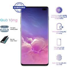Samsung Galaxy S10+ (8GB/128GB) + Quà tặng: Tai nghe Earbuds + Bao da Clearview – Hãng phân phối chính thức.