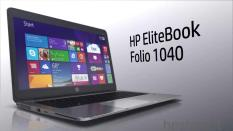 Laptop HP Elitebook Folio 1040 Core i5 4300u Ram 8G SSD 256G màn hình 14 inch HD Vỏ Nhôm xám siêu mỏng nhẹ 1.5Kg Tặng Balo chuột không dây-Hàng nhập khẩu
