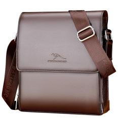 Túi đeo chéo nam, túi đựng ipad, túi đựng đồ cá nhân, túi đựng hồ sơ tài liệu vừa A4 chất liệu da bò cao cấp BAODIDAISHU (KT 27x23x7 – 32x25x8cm – Nâu – Đen) – Bảo Hành Da 12 Tháng