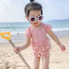 Bikini bé gái/ Bộ bơi đi biển cho bé gái cực xinh mẫu hot nhất hè 2021 (hàng Quảng Châu có video)