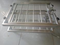 2 Khay đảo trứng bằng nhôm tự động chuyên dùng cho máy ấp trứng (gà 108 quả) vịt, cút, trĩ, bồ câu…
