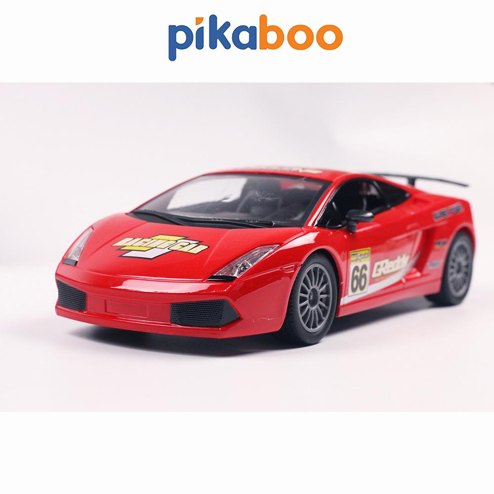Đồ chơi ô tô điều khiển từ xa cao cấp Pikaboo kiểu dáng xe đua chạy bằng pin sạc tỉ...