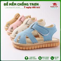 Dép Tập Đi, Giày Tập Đi Cho Bé Đế Mềm Chống Trượt Phát Tiếng Kêu cho bé 0 đến 4 tuổi