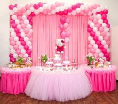 Vải voan thun làm phông rèm đám cưới, sự kiện, sinh nhật, trang trí nhà hàng, khách sạn, không gian tiệc rộng 1m75 dài 2m (đã may)