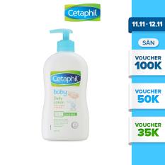 Sữa dưỡng ẩm Cetaphil cho em bé với dưỡng chất hữu cơ từ hoa cúc Calendula 400ml
