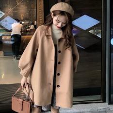 Áo khoác dạ nữ thời trang ấm áp