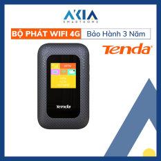 Bộ Phát Wifi 4G Gắn Sim Di Động 4G LTE 150Mbps Tenda 4G185 Đen – kết nối 10 thiết bị cùng một lúc – pin 2100 mAh – Bảo hành chính hãng 3 năm
