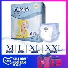 Tã quần Chiaus Cool Pants【size M – 60 miếng】【size L – 36 miếng】【size XL – 32 miếng】【size XXL – 30 miếng】Chiaus Cool Pants Ultra Thin Baby Diaper size M60/L36/XL32/XXL30