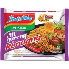Thùng 40 gói mì xào khô indomie goreng Vị Bò Cay ( Goreng Rasa Rendang ) 91g