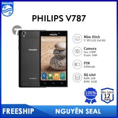 Điện thoại Philips V787 (2GB/16GB) – PIN cực lớn 5000mAh, Bảo hành 12 tháng
