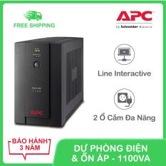 Bộ lưu điện APC by Schneider Electric Back-UPS 1100VA 230V & ổn áp BX1100LI-MS