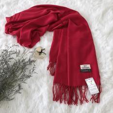 Khăn len quàng cổ mùa đông len mỏng nhẹ mềm cho cả nam và nữ CASHMERA