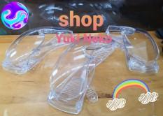 [100 KÍNH BẢO HỘ TRONG SUỐT] CHUYÊN DÙNG TRONG Y TẾ – KỸ THUẬT – XÂY DỰNG Protective Safety Goggles Clear Lens
