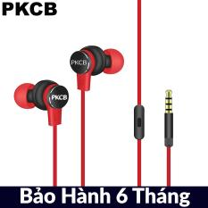 Tai nghe cắm dây có mic đàm thoại 120cm PKCB151 Tai nghe cao cấp Thiết kế hiện đại công nghệ âm thanh mới nhất chất lượng xóa tan căng thẳng mệt mỏi