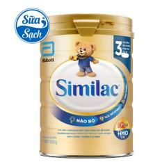 Sữa bột Similac IQ 3 HMO 900g (mẫu mới)