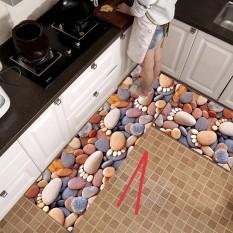 Thảm trang trí nhà bếp, phòng khách Bộ 2 chiếc Thảm Nhà Bếp Cao Cấp ( 1 Dài + 1 Ngắn) shop mẫu 2020 revato