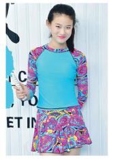 Đồ bơi bé gái chân váy rời phối nhiều màu siêu đẹp size từ 30kg đến 50kg